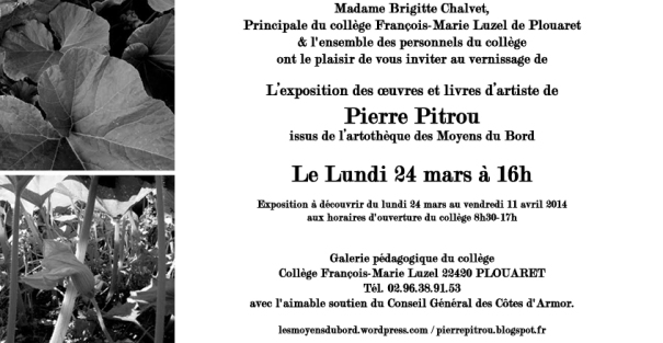 invitationPierrePitrou