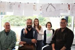 Après la présentation du projet de livre d'artiste de l'école du Poan Ben